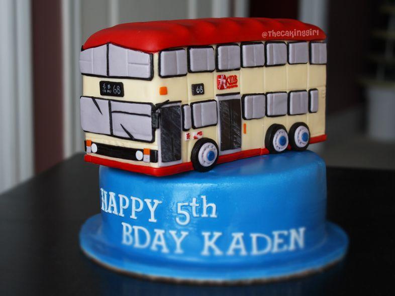 hongkongbusjpg 786590 cake design Pinterest Bus cake