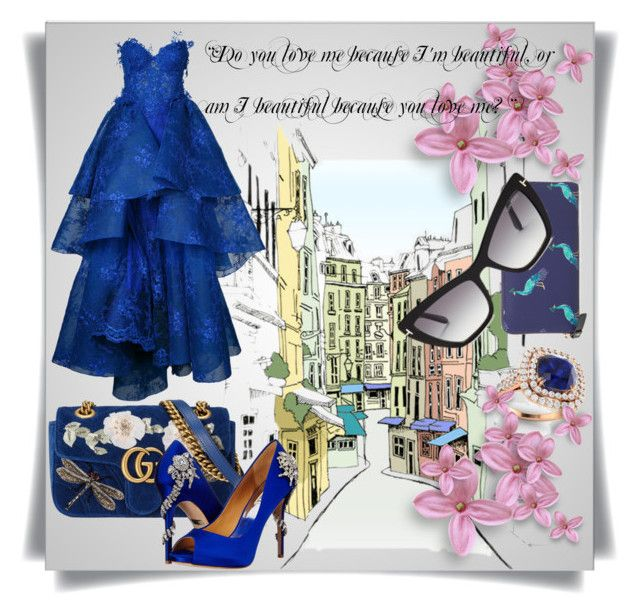 Beautiful Quote by imbeauty on Polyvore featuring Nedret Taciroglu Couture, Badgley Mischka, Gucci, Kate Spade, Diamondere, Tom Ford and beautifulquote