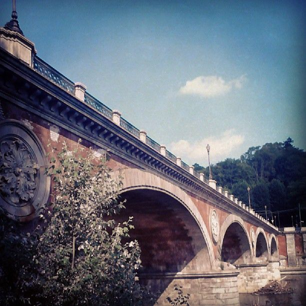 Ponte Isabella, Parco del Valentino - Torino