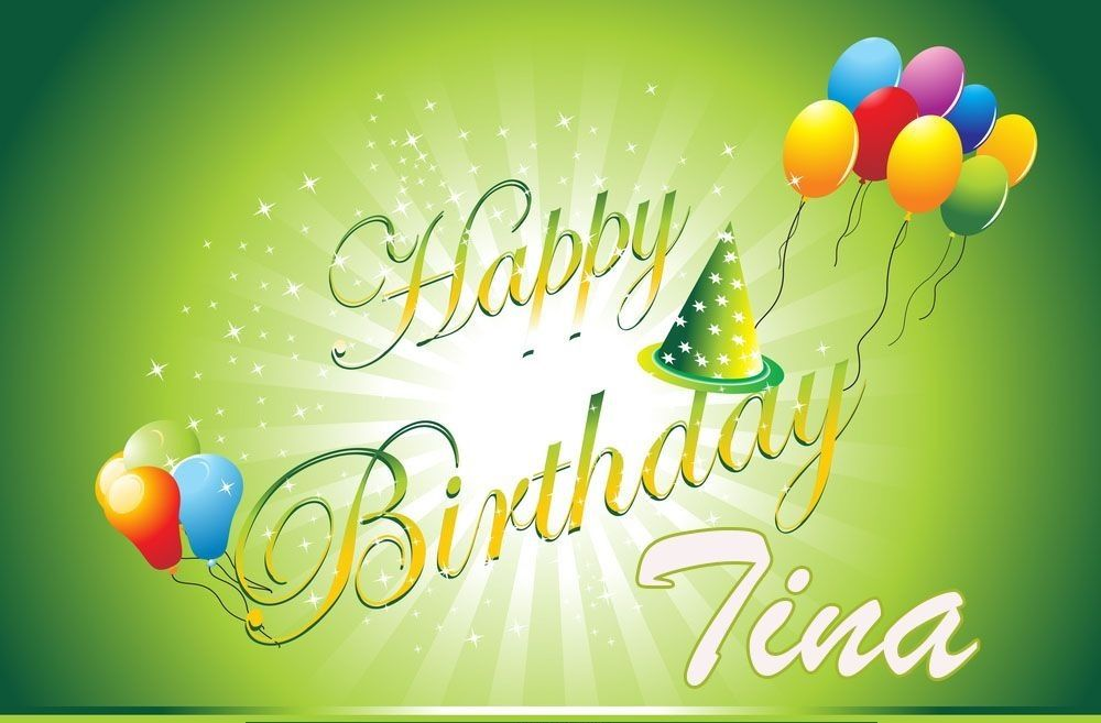 Happy Birthday Tina Hope U Have A Day Filled With Cocktails With