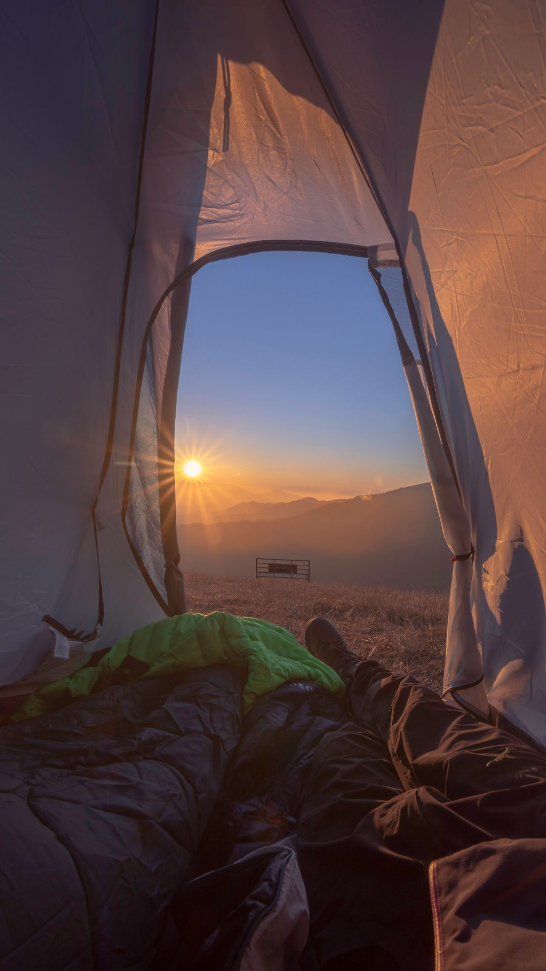 Wallpapers Sunrise Morning Tourism Camping Tent Camping Wallpaper Camping Photography Tent