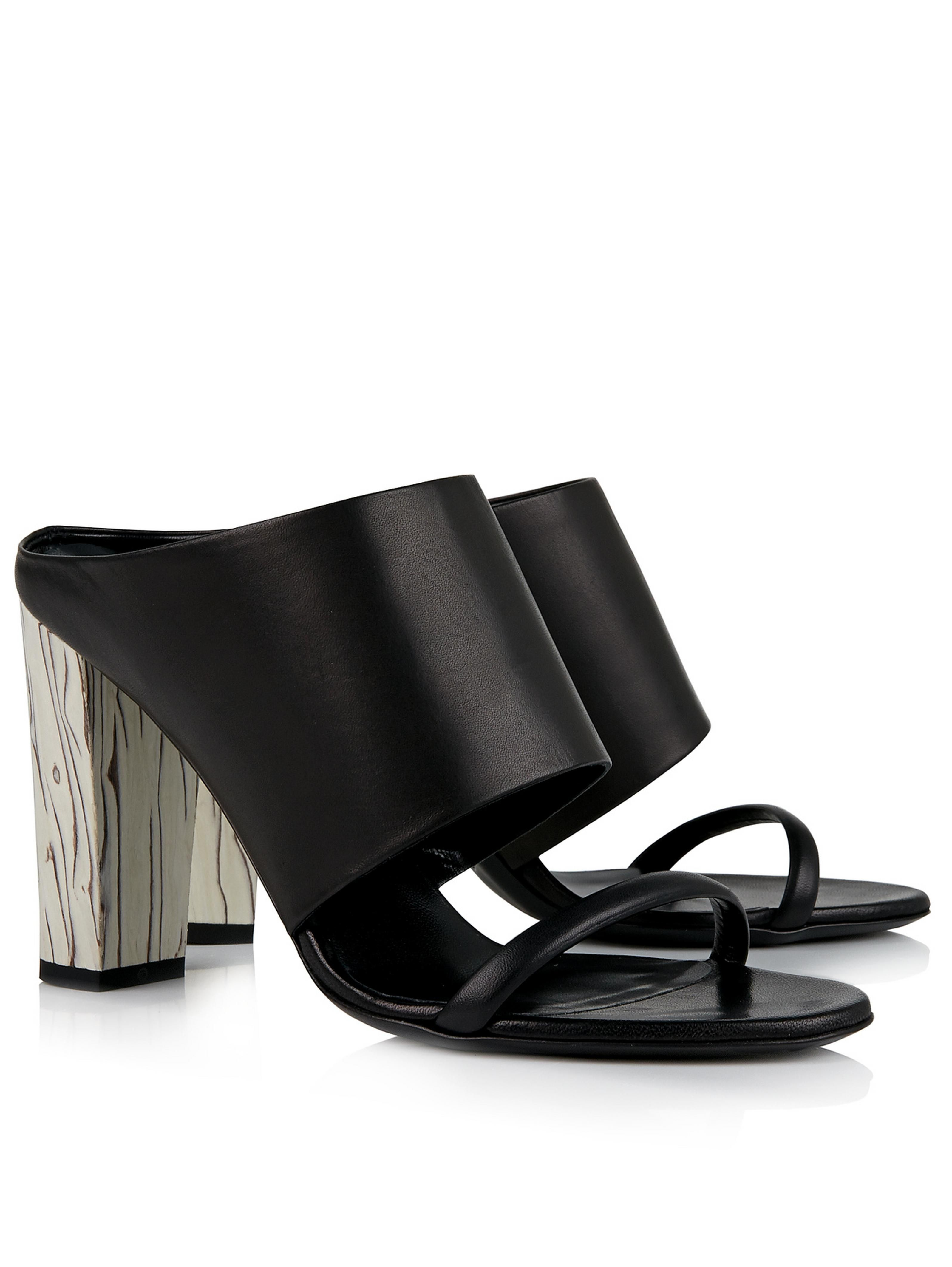 clearance online official site McQ Alexander McQueen Open-toe mules free shipping really 2014 for sale buy cheap outlet locations discount professional sbSLpssF8