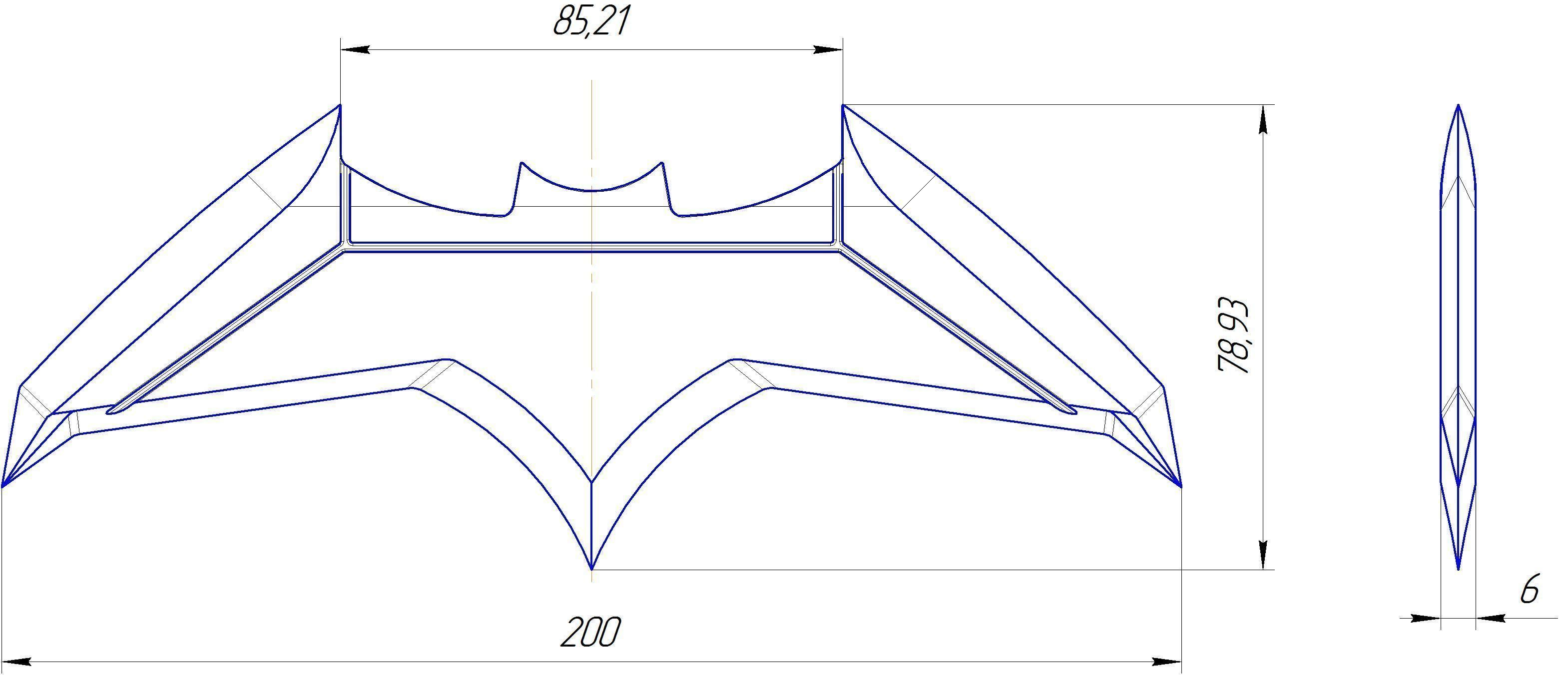 image result for printable batarang template leo glider