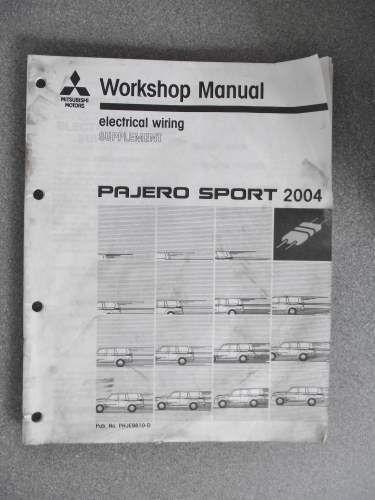 Diagram  Mitsubishi Pajero Sport Electrical Wiring Diagram Full Version Hd Quality Wiring