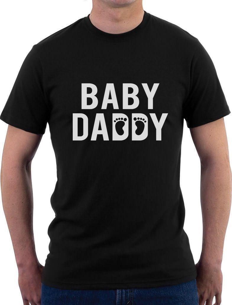 Baby daddy funny new dad fathers day gift for dad tshirt