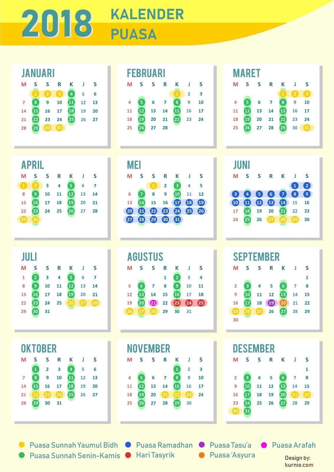 Kalender Ramadhan 2019 - Ramadhan Kareem