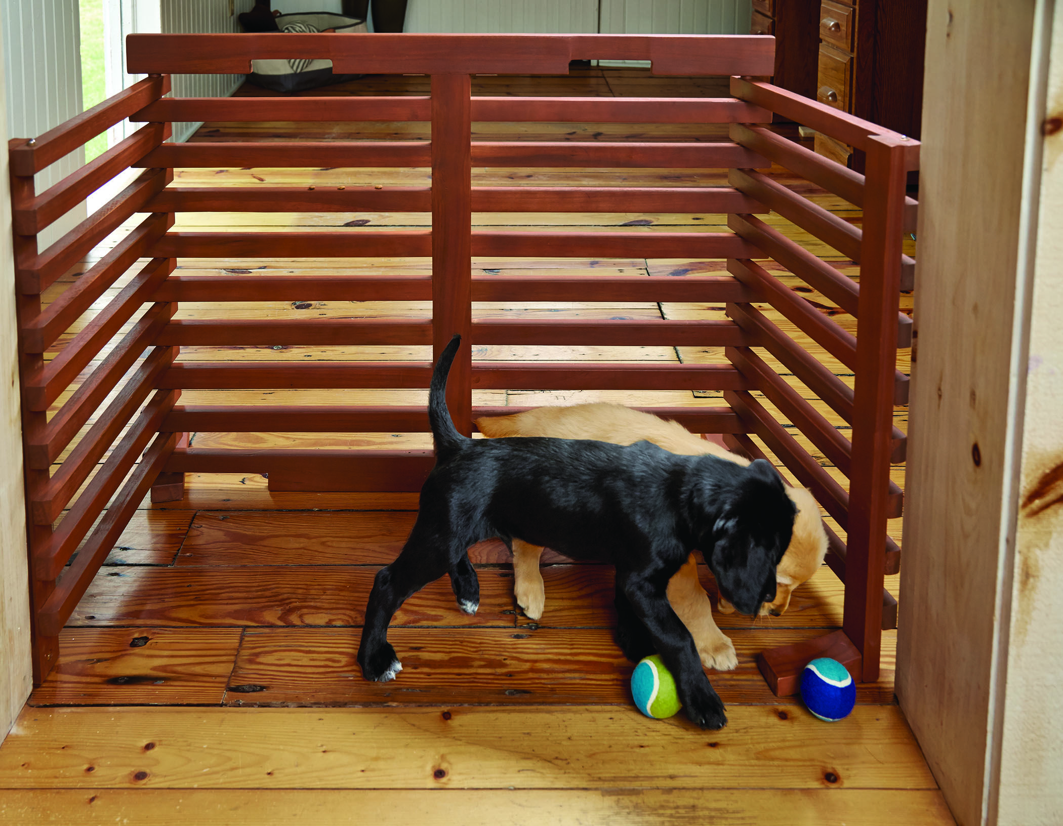 Pet Furniture That Adds Style to Your Home Diy dog gate
