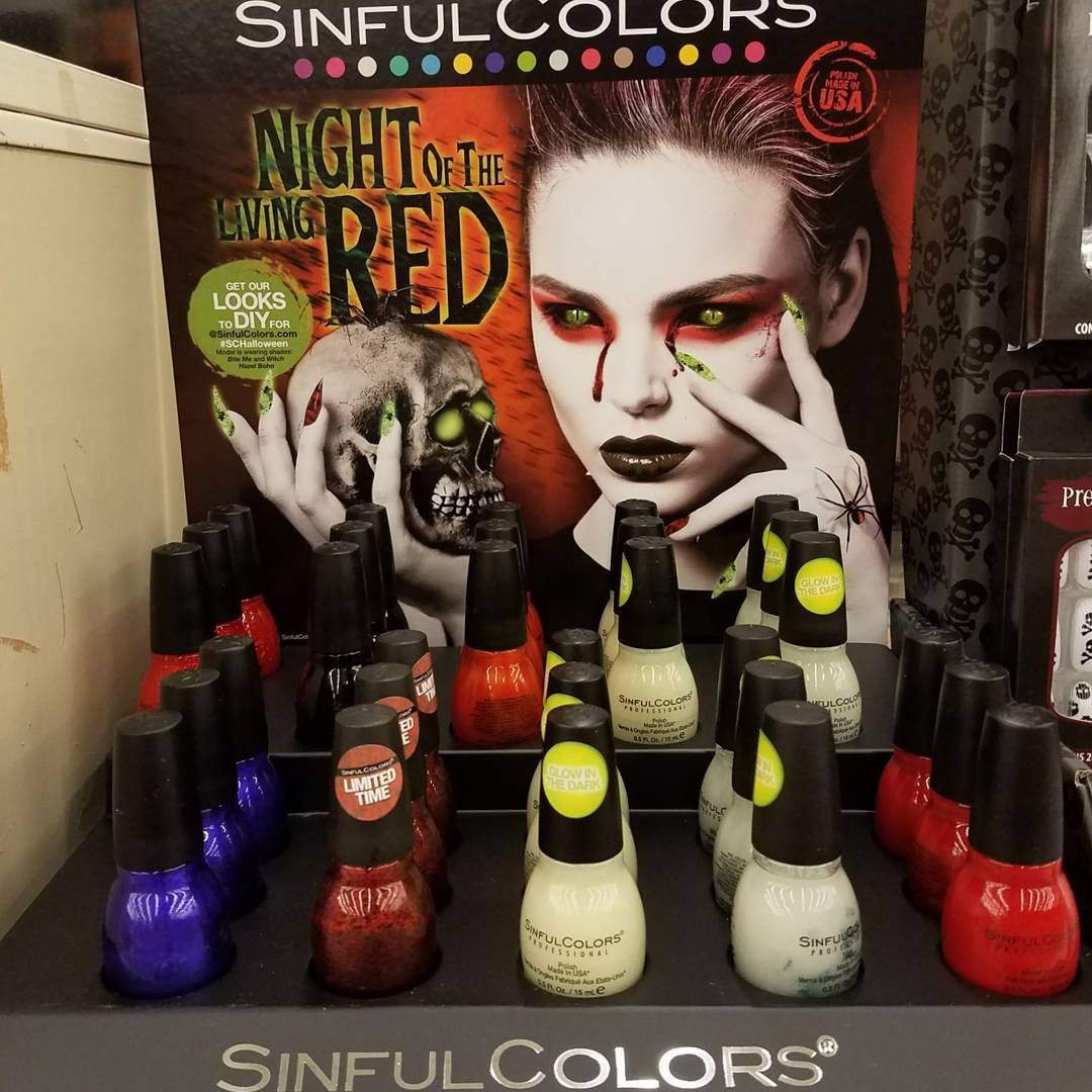 Sinful colors night of the living red | Sinful colors ...