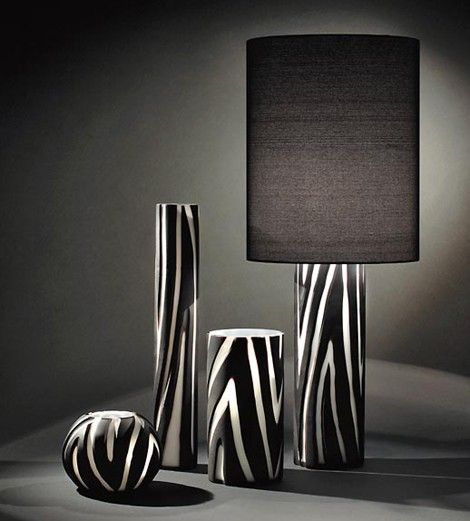 Zebra Lamps And Decor