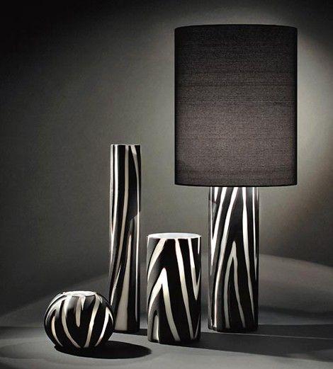 Vivarini Animal Print Lamp From Formia Animal Print Decor Zebra
