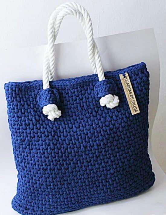 Crochet Market Tote Bag Free Pattern Ideas | Pinterest