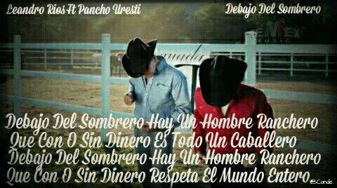 538a2da6768f0 Leandro Rios Ft Pancho Uresti - Debajo Del Sombrero