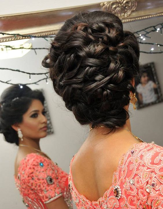indian wedding hairstyle images for long hair  new