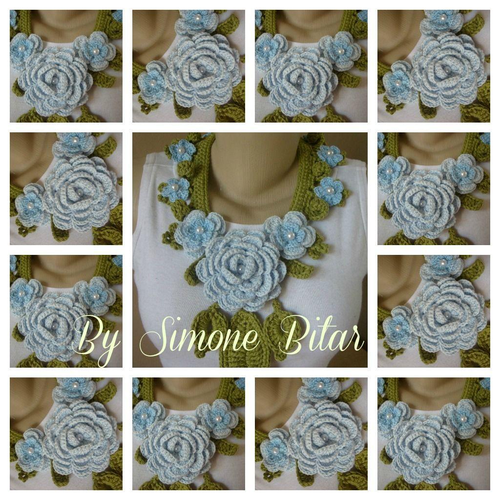 Colar Afrodite Baby Blue