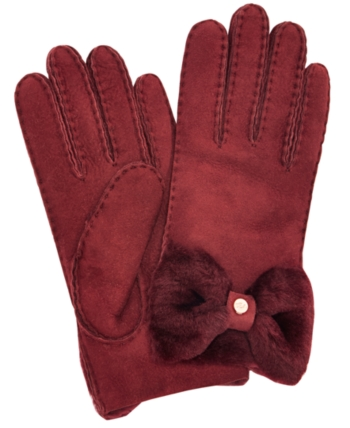 7fbfcdd0b Ugg Bow Shorty Gloves - Brown in 2019 | Products | Pinterest ...