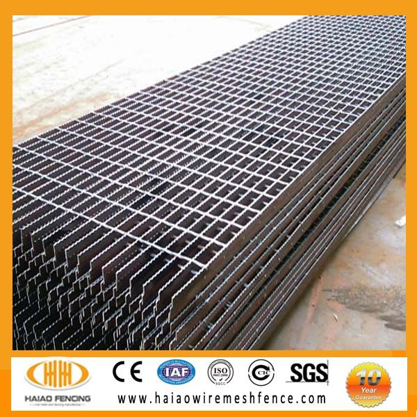 High Quality Steel Bar Steel Grating And Serrated Design