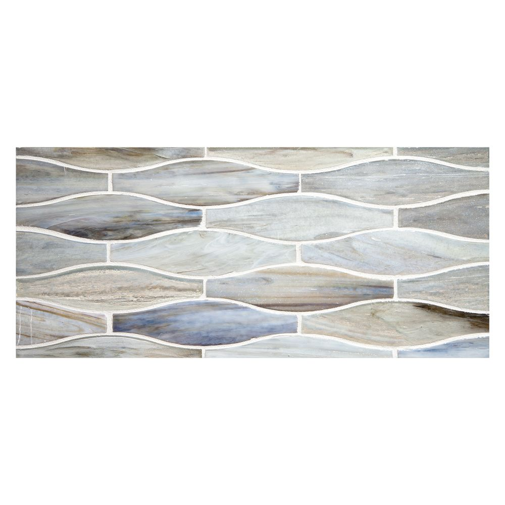 Complete Tile Collection Ajete Recycled Glass Mosaic Bai Perla Finish Toko 1 1 4 X 4 7 8 70 Recycled Glass Eco Friendly Mosaic Glass Mosaic Glass