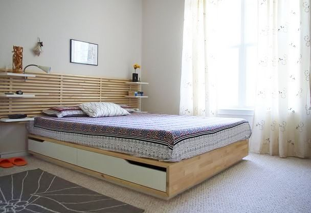image result for ikea mandal headboard
