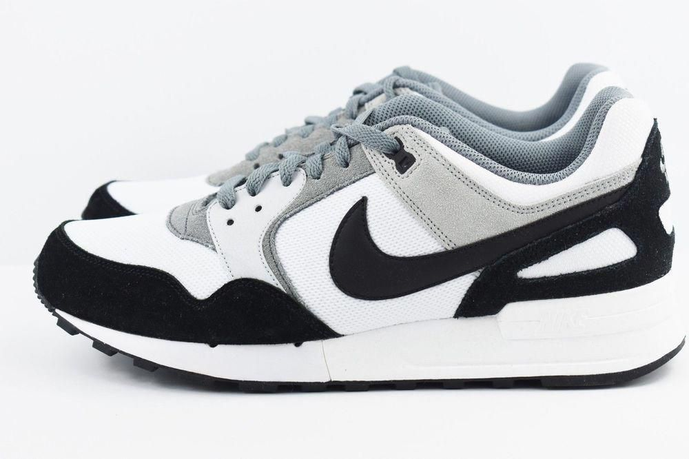 brand new 79a0a 0bcf1 Nike Air Pegasus 89 Mens Running Shoes 12 White Black Wolf Grey 344082 120  Nike RunningShoes