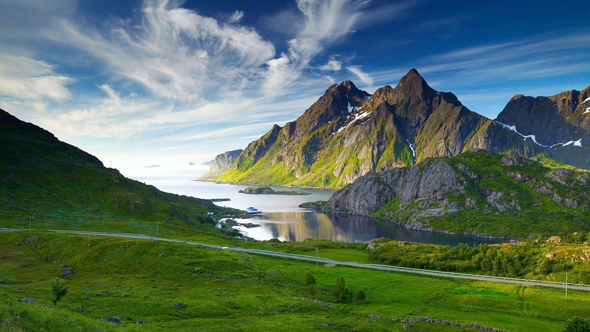 Mountain Norway Wallpaper HD Wallpaper Nature