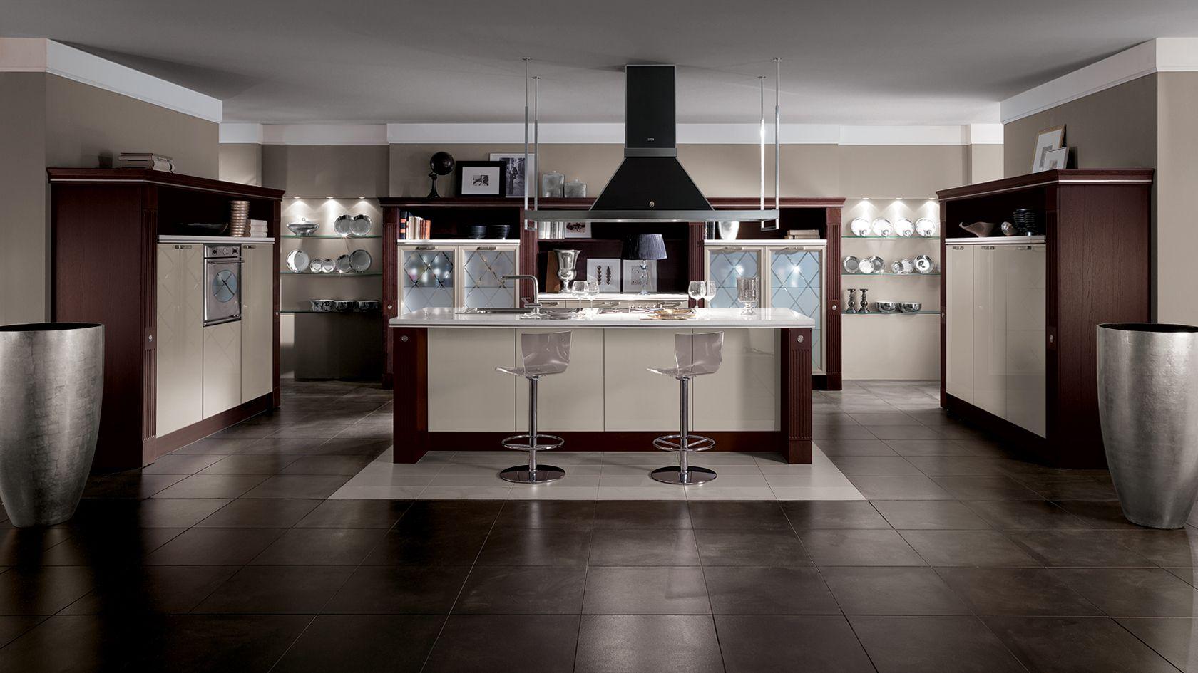 Cucina classica Baccarat | Sito ufficiale Scavolini | cucina ...