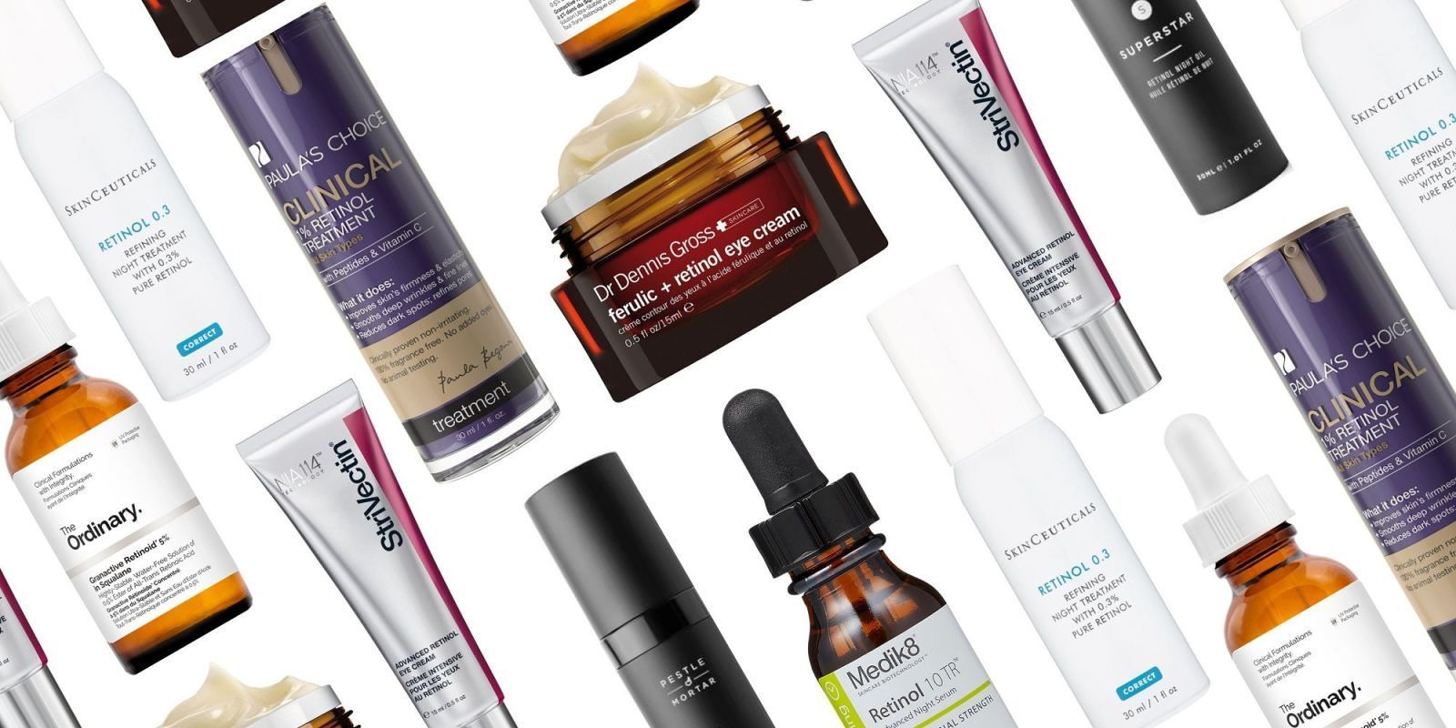 The Best Retinol Creams Serums And Oils For Your Most Flawless Skin Ever Retinol Retinol Moisturizer Skin Cleanser Products