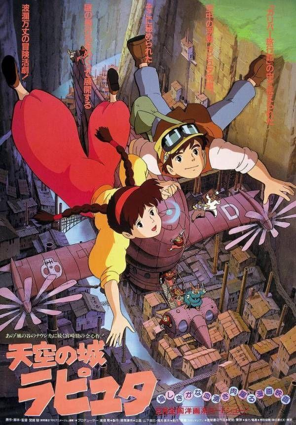 ジブリの歴代ポスター貼ってく En 2020 El Castillo En El Cielo Miyazaki Studio Ghibli