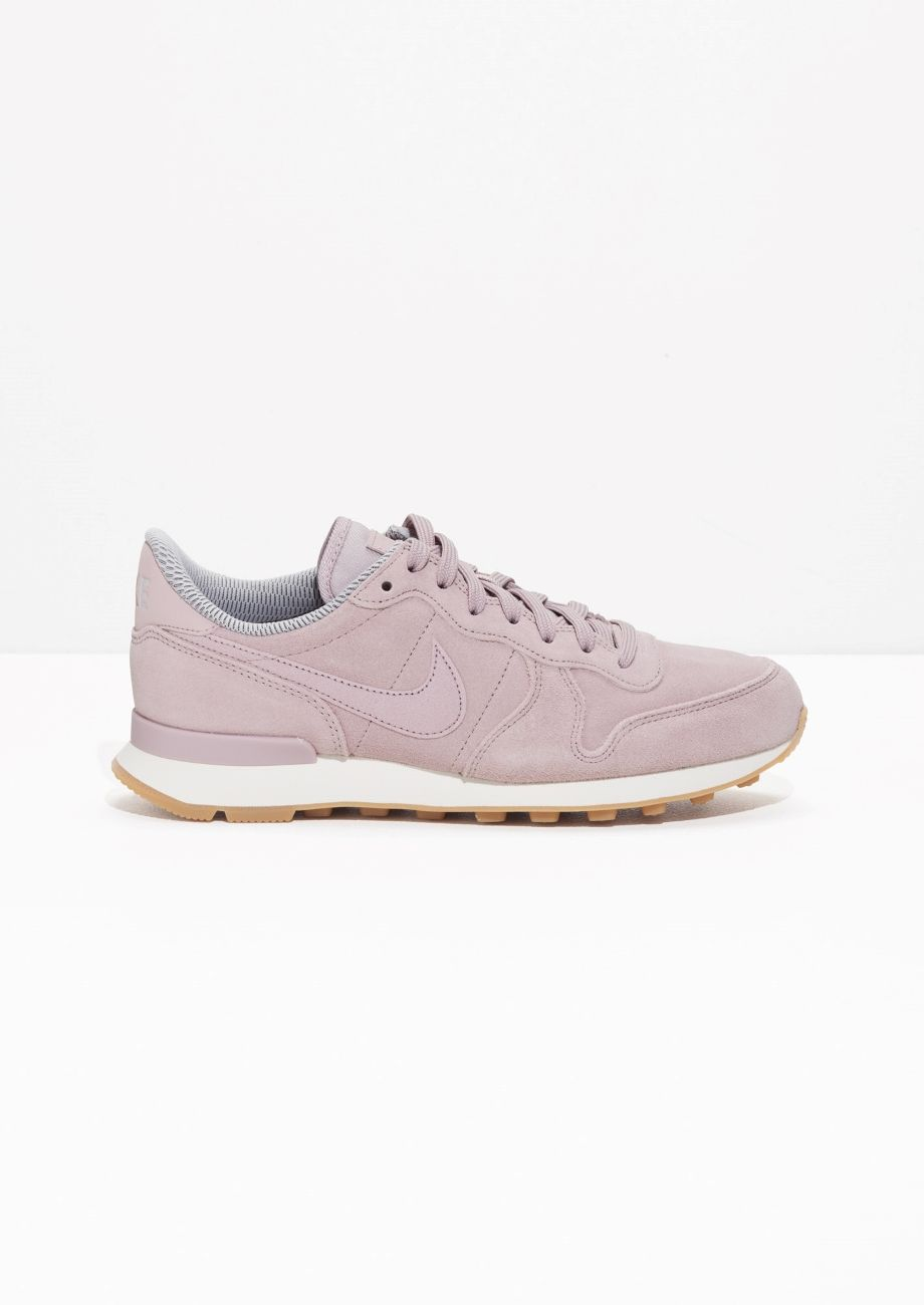 new concept d4a2f b28fa Other Stories image 1 of Nike Internationalist in Peach