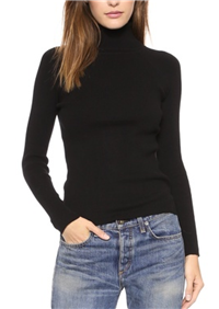 525 America - Rib Turtleneck Sweater: For work, this season, it's all about getting that perfect turtleneck sweater.