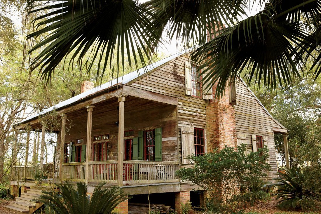 Inside the Ultimate Bayou Cottage