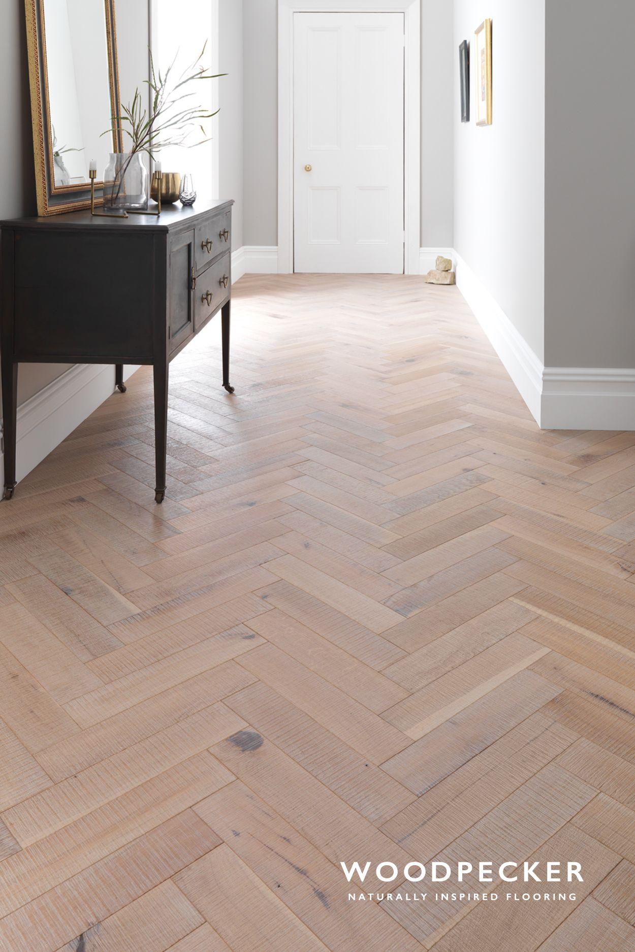 Goodrich Salted Oak Wooden kitchen floor, Wooden floors