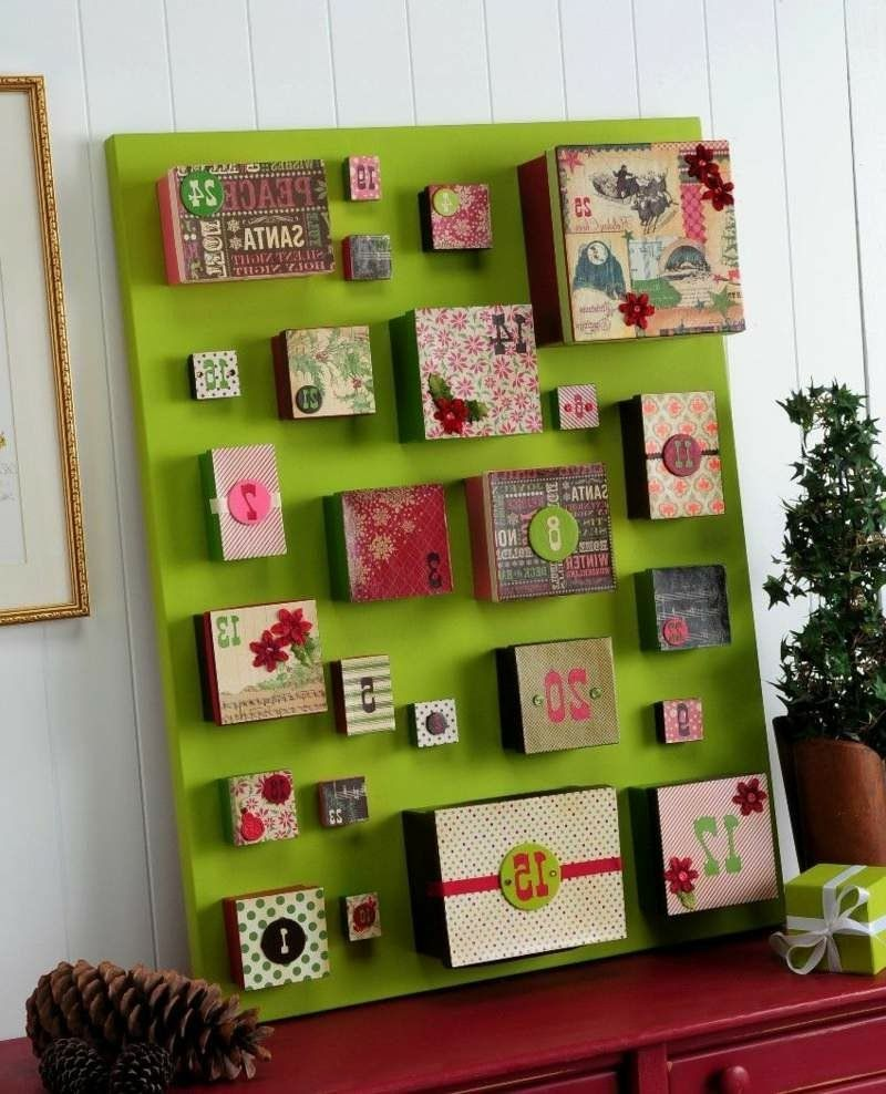 Create Advent Calendars Yourself Creative Craft Ideas For