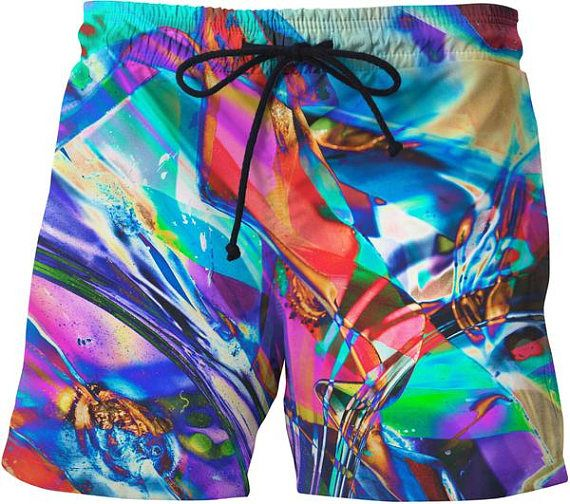 Boys Swim Shorts Rainbow Rainbow