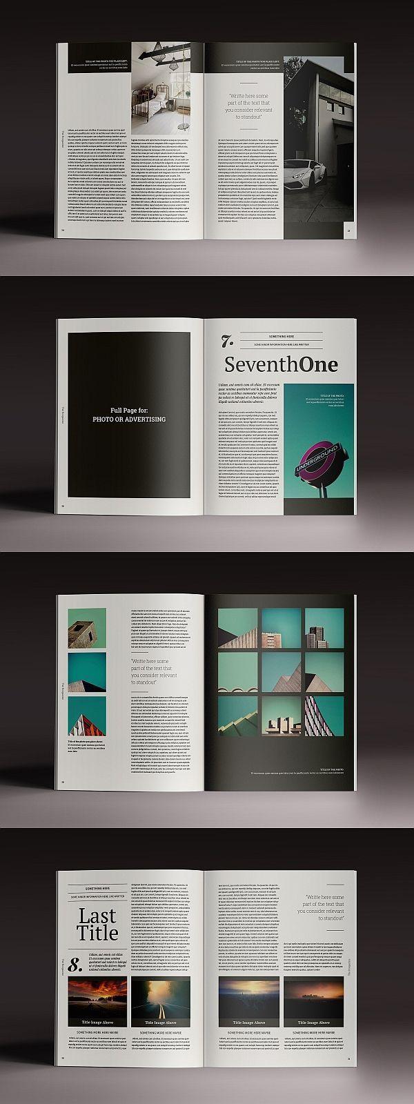 Brogazine Indesign Template In 2020 Book Design Layout Page Layout Design Graphic Design Layouts