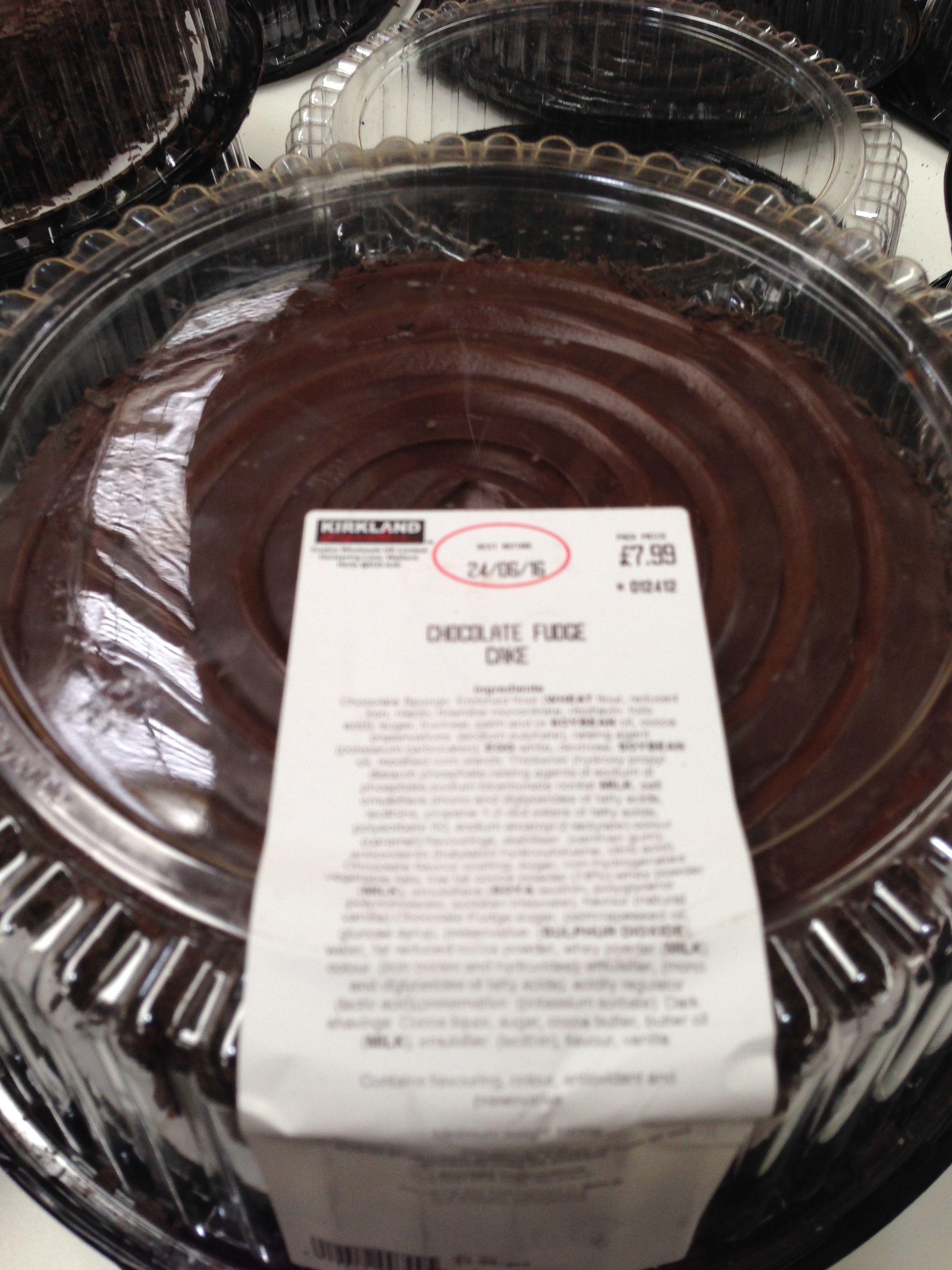 Chocolate Fudge Cake Costco 163 7 99 Chocolate Fudge Cake