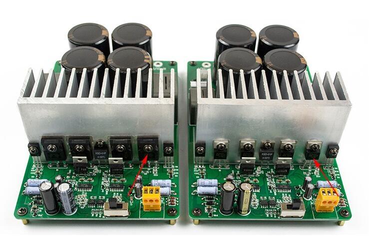 99.75$  Watch here - http://ali9vu.worldwells.pw/go.php?t=32361936062 - YZ- IRAUD2000 Power amplifier board IRS2092S IRFP4227 2000W amp board CL-136 99.75$