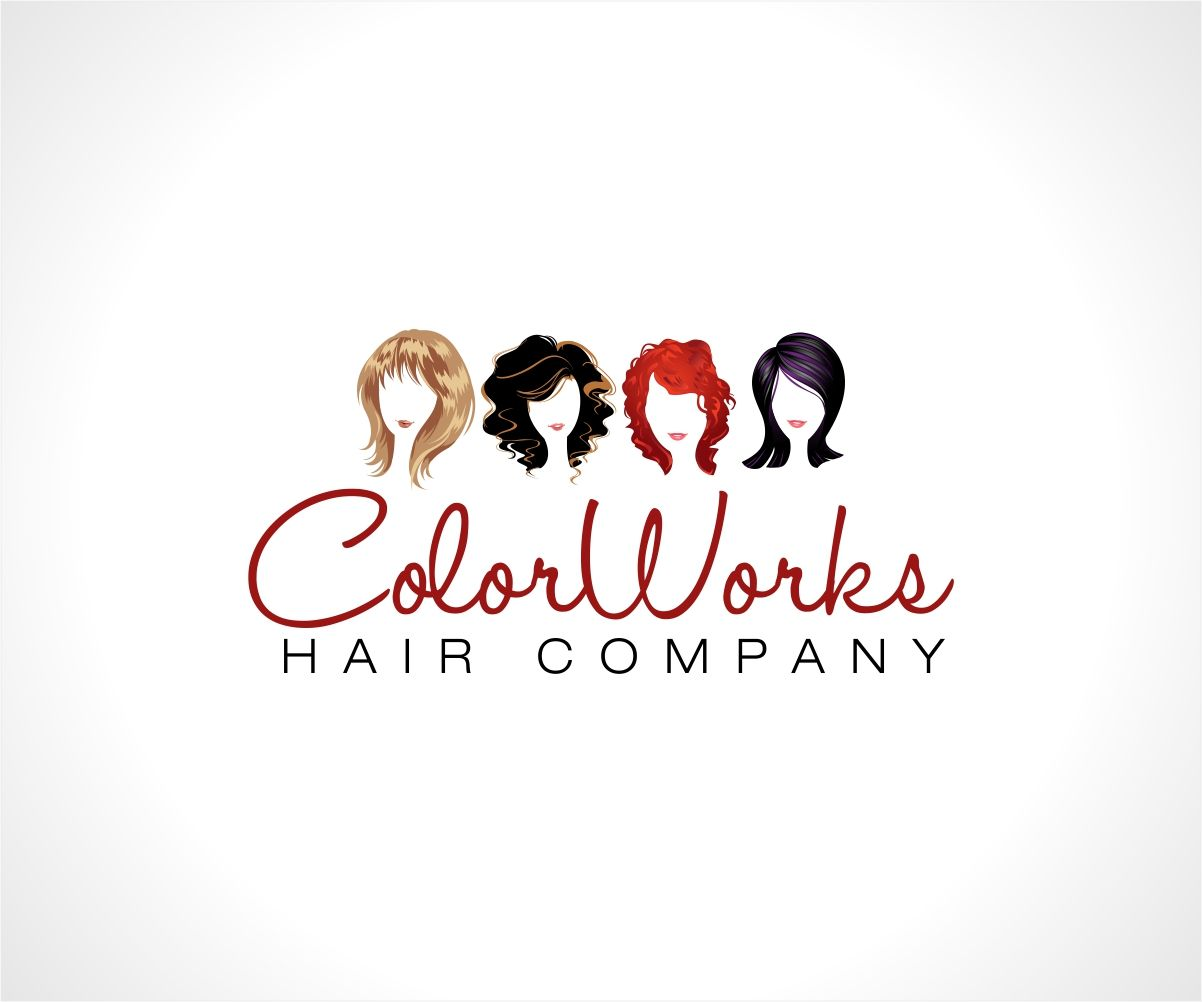 Logo Salon De Coiffure Logo For Color Works Hair Company Graphic Station