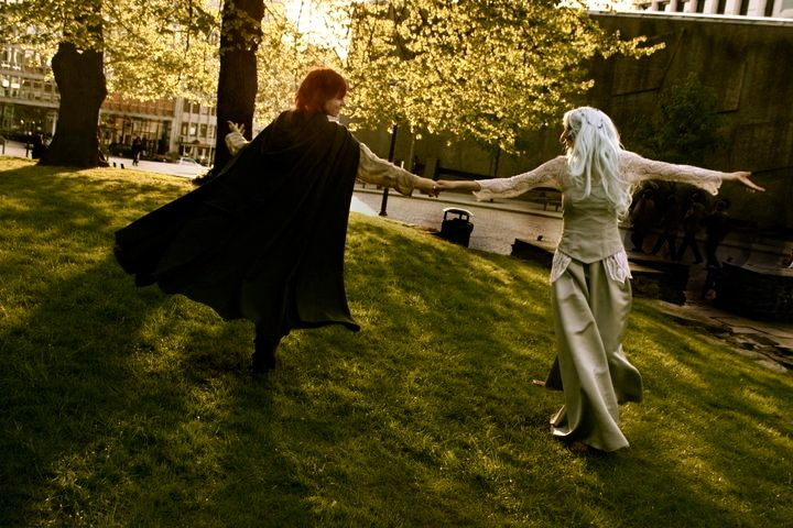 Kvothe and Felurian Fae Cosplay by  Rcotino   The Wise Man s Fear     Kvothe and Felurian Fae Cosplay by  Rcotino   The Wise Man s Fear  Kingkiller  Chronicle fan  Visit eoliantavern com