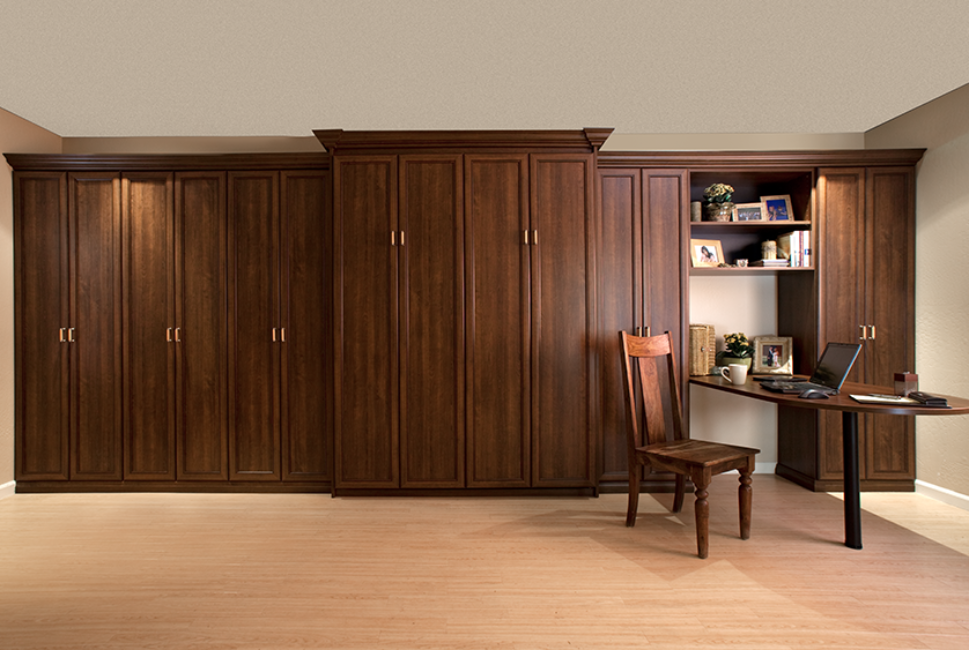 Murphy Beds Smart Spaces Murphy bed, Bed with wardrobe