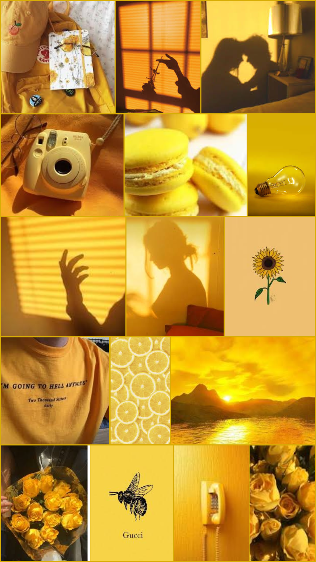 Aesthetically Pleasing Wallpapers Yellow