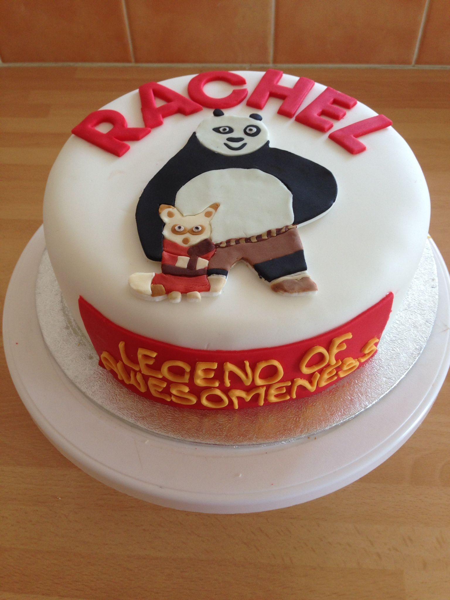 Kung Fu Panda Themed Cake 1st Birthday Pinterest Kung Fu Panda