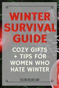 The Indoorsy Woman's Ultimate Winter Survival Guide #wintersurvivalsupplies The Indoorsy Woman's Ultimate Winter Survival Guide | This is exactly what I needed today! Cozy Gifts + Practical Tips for Women Who Hate Winter -- Check out this ultimate winter survival guide! | www.fillingthejars.com #wintersurvivalsupplies The Indoorsy Woman's Ultimate Winter Survival Guide #wintersurvivalsupplies The Indoorsy Woman's Ultimate Winter Survival Guide | This is exactly what I needed today! Cozy #wintersurvivalsupplies