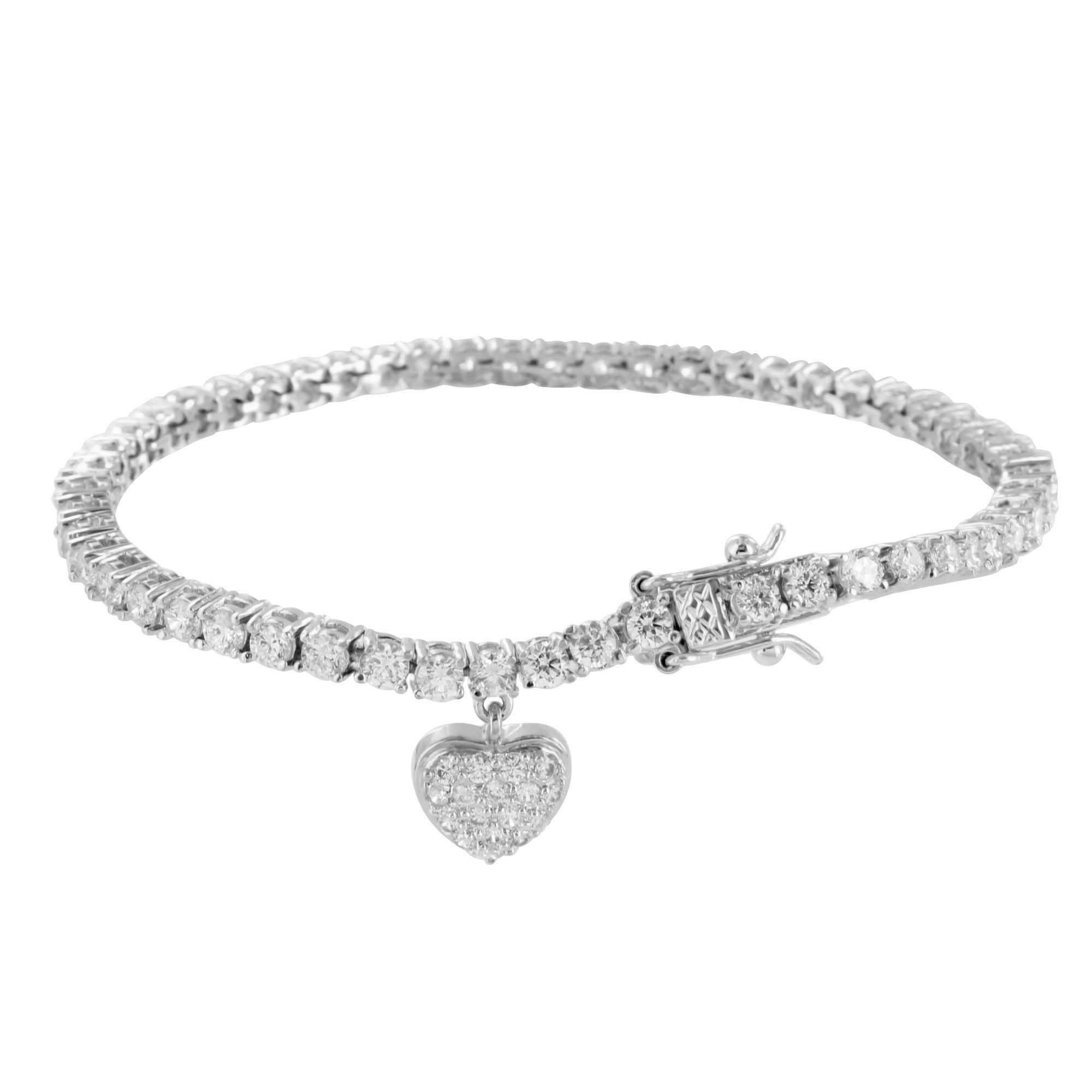 bracelet luxurman diamond unique in men carat tennis for by gold mainye