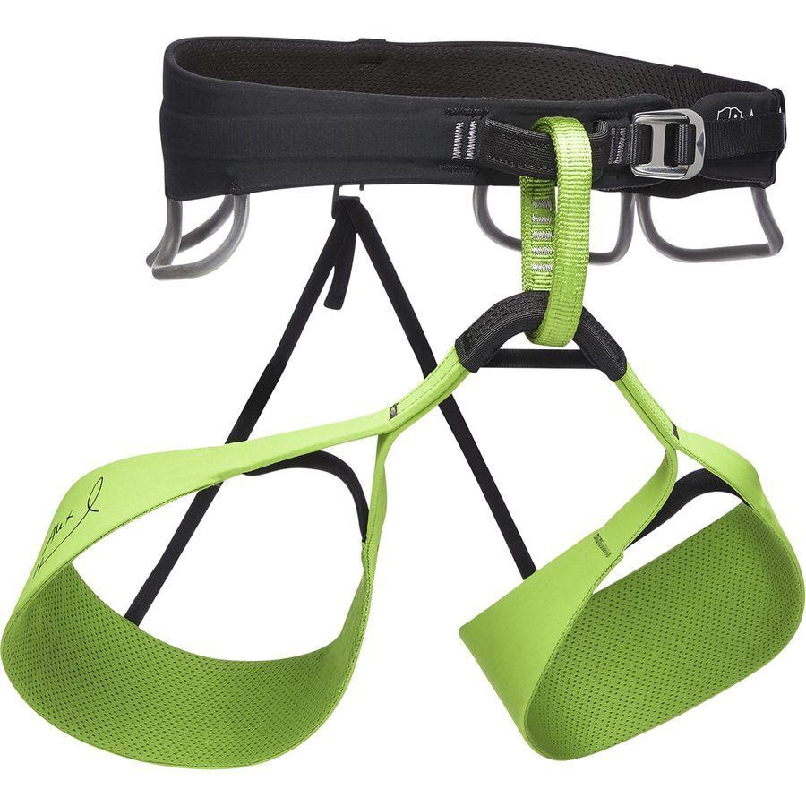 Black Diamond Solution Harness Men S Honnold Edition Verde Black Diamond Climbing Gear Rock Climbing Gear