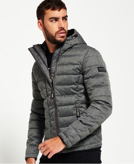Superdry Tweed Double Zip Fuji Jacket Men's Jackets