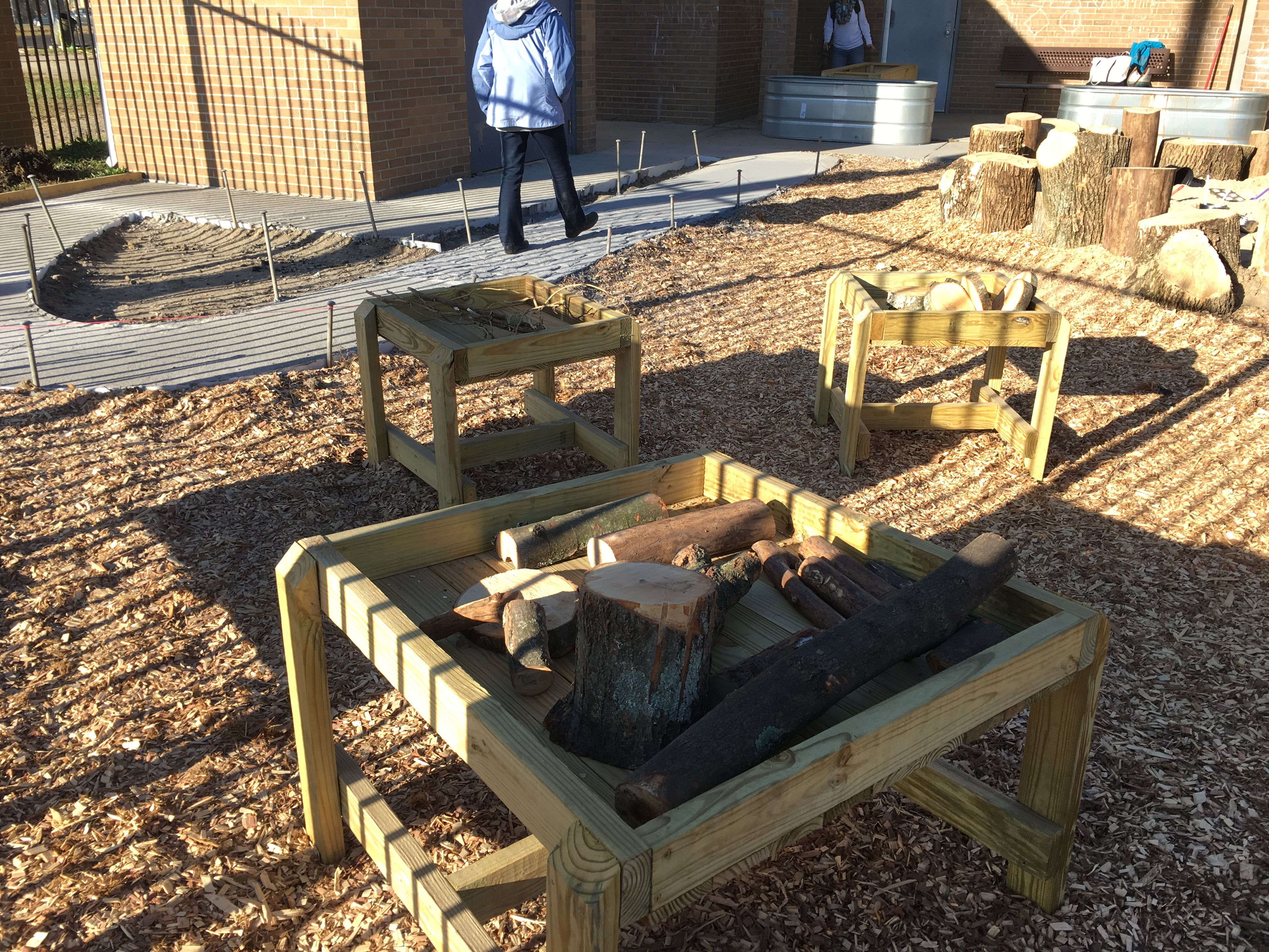 keystone natural playground small building area early childhood