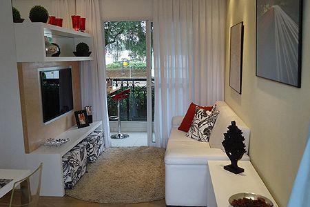 Apartamento peque o muebles para tv pinterest - Muebles para apartamentos pequenos ...