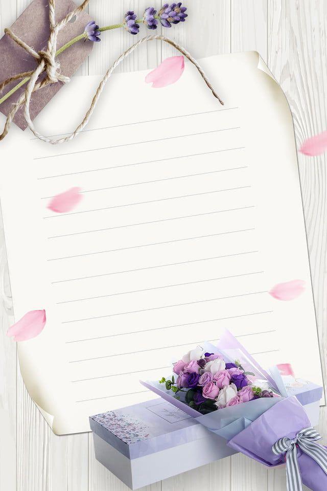 Proste Kwiaty Kartkę Z życzeniami, Faborek, Pudełko Na Prezent, Płatek Obraz tła do pobrania za darmo