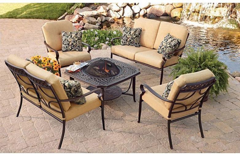 details about backyard patio conversation set 5 piece 2 loveseats 2 rh pinterest co uk