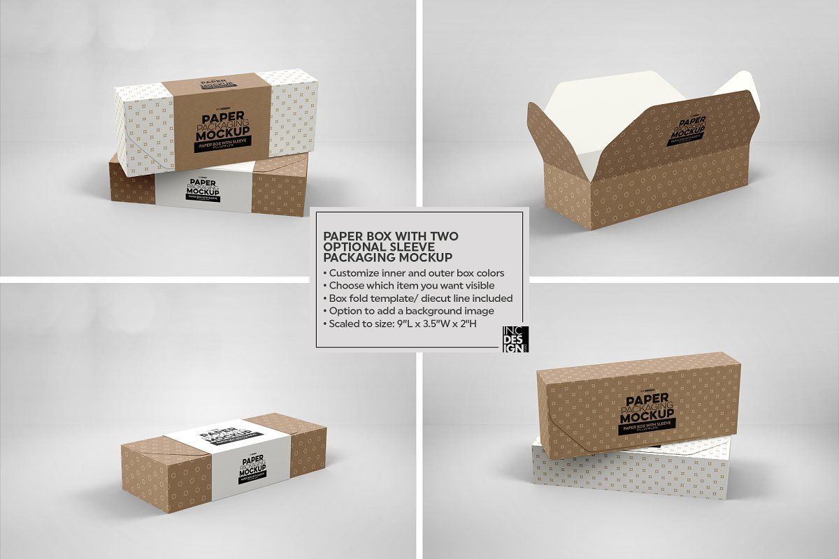 Download Vol 18 Paper Box Packaging Mockups Packaging Mockup Paper Box Free Packaging Mockup